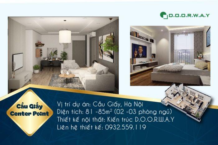 Ảnh tiêu biểu-[Mẫu nội thất] thiết kế căn hộ chung cư 110 Cầu Giấy Center Point