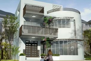 Ảnh tiêu biểu-Mẫu thiết kế nhà hai tầng đẹp hiện đại 80m2