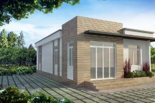 Ảnh tiêu biểu- Những mẫu thiết kế nhà cấp 4 5x20 phong cách hiện đại