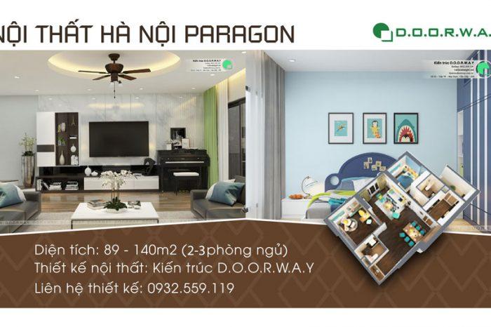 Ảnh tiêu biểu- Tổng hợp thiết kế nội thất căn hộ Hà Nội Paragon - 2019