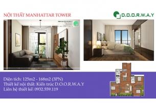 Ảnh tiêu biểu - Mẫu thiết kế nội thất căn hộ Manhattan Tower | Doorway