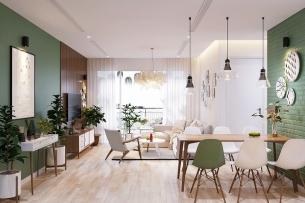 Ảnh tiêu biểu- Cận cảnh thiết kế nội thất chung cư 70m2 phong cách hiện đại