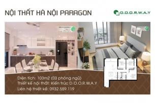 ảnh tiêu biểu-nội thất căn hộ 103m2 Hà Nội Paragon