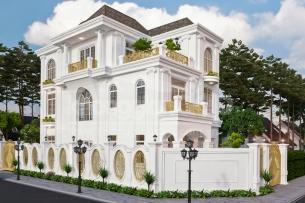 Ảnh tiêu biểu- 5 mẫu thiết kế biệt thự phố tân cổ điển độc đáo