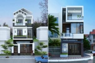 Ảnh tiêu biểu- Gợi ý cách thiết kế nhà 3 tầng 7x11m đẹp độc đáo