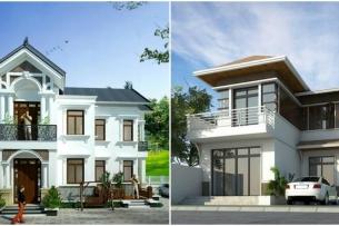 Ảnh tiêu biểu- Bắt mắt với 5 mẫu thiết kế nhà chiều ngang 9m
