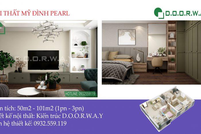 Thiết kế nội thất căn hộ Mỹ Đình Pearl