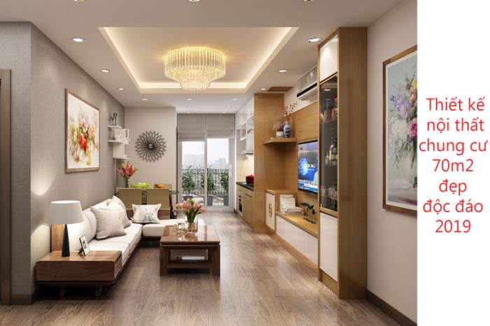 ảnh tiêu biểu - thiết kế nội thất chung cư 70m2