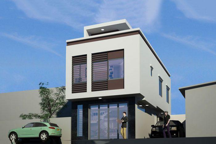 Ảnh tiêu biểu- Thiết kế nhà phố 30m2 2 tầng - giải pháp cho nhà có diện tích nhỏ