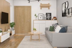 ảnh tiêu biểu - thiết kế phòng khách chung cư đơn giản