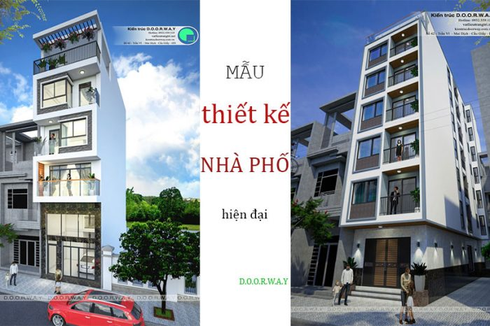 Tổng hợp mẫu thiết kế nhà phố hiện đại đẹp nhất từ Doorway