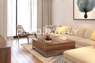 Thiết kế nội thất chung cư 2pn tiện nghi, hiện đại